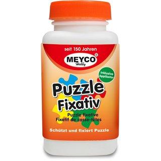 Puzzle-Fixativ, Puzzlekleber, Flasche 120ml