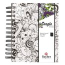 """Tangle Memory Journal""""Orchid"""",FSCMixCred,..."""