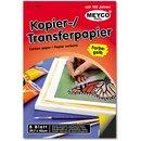 Kopier-Transferpapier 297 x 420 mm, 8 Blatt, gelb