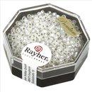 Premium-Rocailles, 2,2 mm ø,  mit Silbereinzug,...
