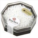 Premium-Rocailles, 2,2 mm ø, opak gelüstert,...