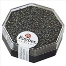 Premium-Rocailles, metallic gefrostet, ø 1,5 mm,...