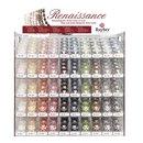 Renaissance Glaswachsperlen, halbtransparent, Farben und...