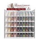 Renaissance Glaswachsperlen, matt, Farben und...