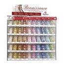 Renaissance Glaswachsperlen, in 24 Farben und 5...