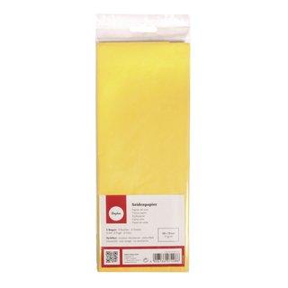 Seidenpapier, lichtecht, 50x75cm, 17g/m², farbfest, Beutel 5Bogen