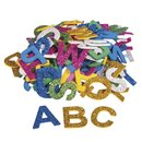 Moosgummi Alphabet Glitter, 3cm, selbstklebend, Beutel...