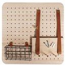 """Starter Set """"Pin & Peg"""", 40x40x2,5cm, inkl. Aufhänger, Box 1Set"""