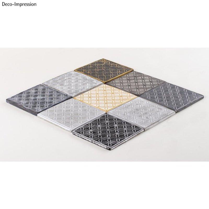 Relief Eingießplatte für Gießform Fliesen