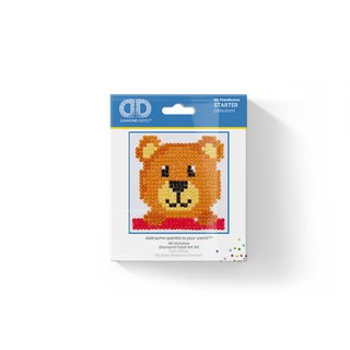Diamond Dotz® Bär, 7,6x7,6cm, 1 Set