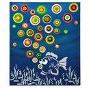 """Blob Paint FarbSet + Schablone DIN A3, """"Fisch"""""""