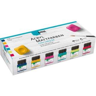 KREUL Acryl Mattfarben Set Color Living 6 x 20 ml