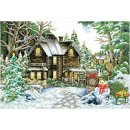 Diamond Dotz® Winter Wonderland, 90x61 cm, 1 Set