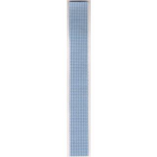 Perlstreifen 20cm, 2mm, Beutel 11Stück hellblau