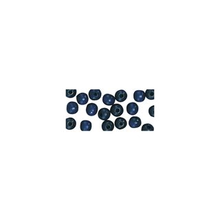 Holzperlen, poliert, 12 mm, dunkelblau