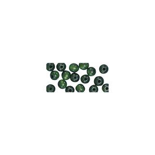 Holzperlen, poliert, 16 mm, mitelgrün