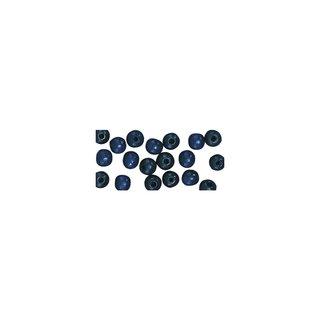 Großlochradl, poliert, 10/8 mm, dunkelblau, Beutel 39 Stück