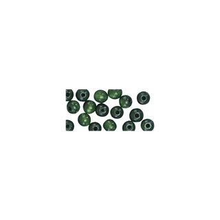 Großlochradl, poliert, 10/8 mm, grün, Beutel 39 Stück