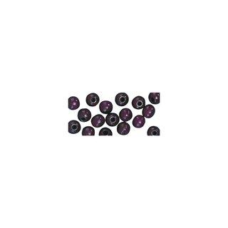 Großlochradl, poliert, 10/8 mm, lila, Beutel 39 Stück