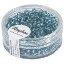 Rocailles, 2,6 mm ø, mit Silbereinzug,...
