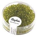 Rocailles, 2,6 mm ø, transparent, hellgrün,...
