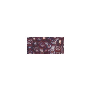 Rocailles, 2 mm ø, transp. gelüstert, flieder, Dose 17g