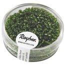 Rocailles, 2 mm ø, mit Silbereinzug, grün,...