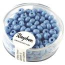 Indianer-Perlen, 4,5 mm ø, hellblau, Dose 17g