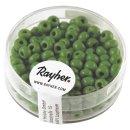 Indianer-Perlen, 4,5 mm ø, grün, Dose 17g