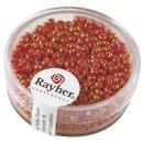 Indianer-Perlen, 4,5 mm ø, orange, Dose 17g