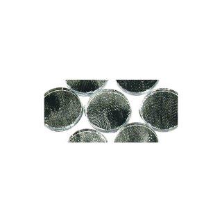 Spiegelmosaik, nicht zum Verfugen, silber, 15 mm ø, 60 Stück