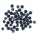 Swarovski Kristall-Schliffperlen, indigo, 3 mm, Dose 50 Stück
