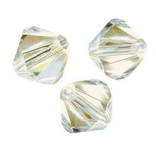 Swarovski Kristall-Schliffperlen, mondstein, 2,5 mm ø, Dose 50 Stück