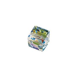 Swarovski Kristall-Würfel, mondstein, 8 mm, Dose 2 Stück