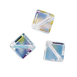Swarovski Kristall-X-Würfel, mondstein, 6 mm, Dose 4 Stück