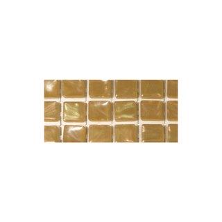 Acryl-Mosaik, Perlschimmer,selbstklebend, helltopaz, ø 5mm, rund, 3 Farben, Beutel, 144 Stück