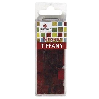 Spiegelmosaiksteine, 1,0x1,5 cm, rot, Box ca. 40 Stück/30g