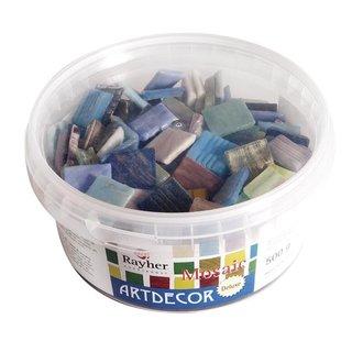 "Mosaiksteine ""ArtDecor"" Deluxe, 2 cm, gemischt, Eimer ca. 160 Stück / 500 g"