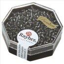 Premium-Rocailles, 2,2 mm ø, silbergrau, Dose 12g,...