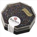 Premium-Rocailles, 2,2 mm ø, orchidee, transparent Rainbow, Dose 8g