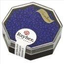 Premium-Rocailles, 2,2 mm ø, royalblau, Dose 12g, opak