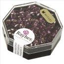 Magatama Perlen, Silbereinzug, amethyst, 4x7 mm, länglich, Dose 9g