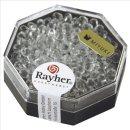 Miyuki-Perle-Drop, transparent, bergkristall, Dose 12g, ø 3,4 mm