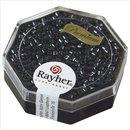 Delica-Rocailles, 2,2 mm ø, anthrazit, metallic