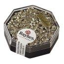 Delica-Rocailles, 2,2 mm ø, silber, metallic