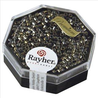Delica-Rocailles, 2,2 mm ø, brill.bronze, metallic