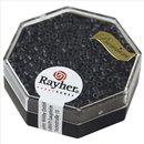 Delica-Rocailles, 2,2 mm ø, blaugrau, 6g, metallic matt
