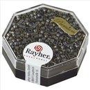 Delica-Rocailles, 2,2 mm ø, anthrazit, 6g, metallic matt