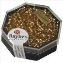 Delica-Rocailles, 2,2 mm ø, helltopaz, mit Silbereinzug