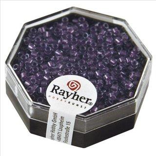 Delica-Rocailles, 2,2 mm ø, violett, 6g, Perlglanz